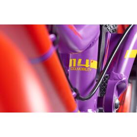 """s'cool pedeX Dirt 14"""" Girls, violett/red matt"""